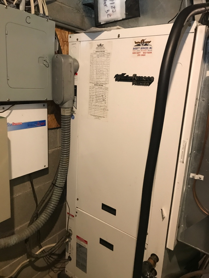 Zionsville, IN - Repairing a Waterfurnace geothermal heat pump air conditioner furnace