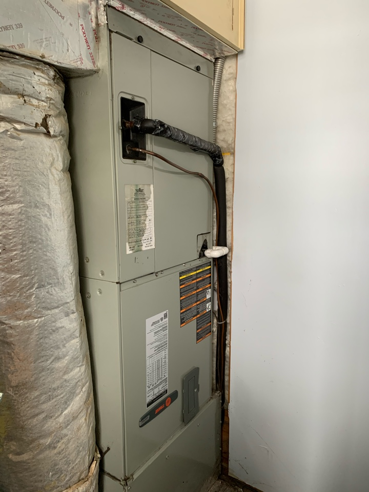 Pittsboro, IN - 12 Year Old Trane Air Handler Winter Tune Up