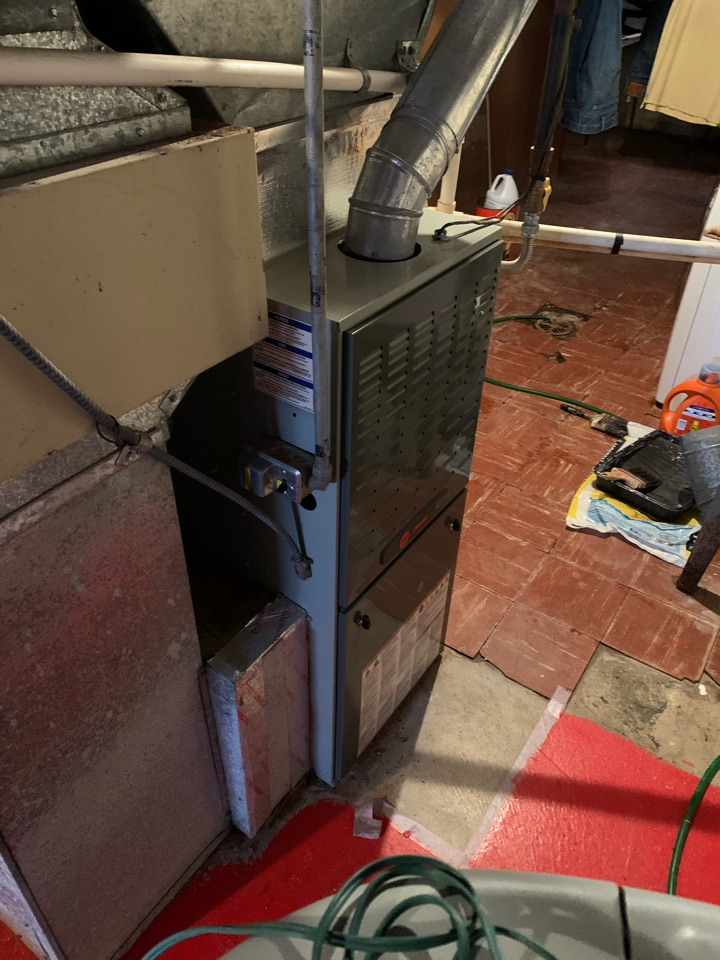 Speedway, IN - Eight Year Old Trane Gas Furnace Winter Tune Up