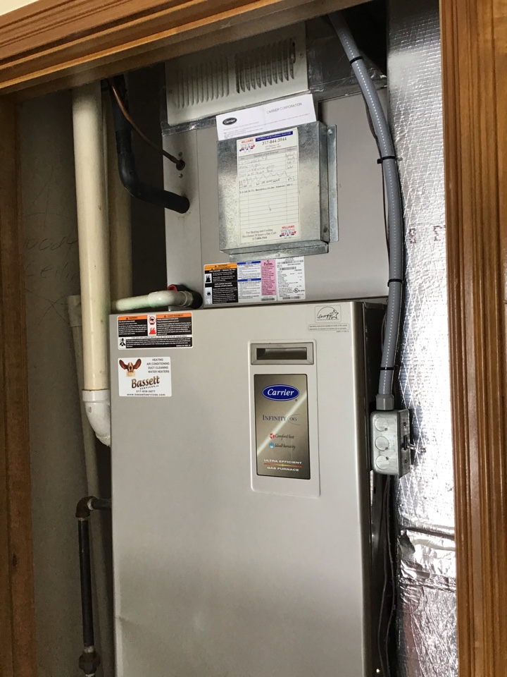 Brownsburg, IN - Estimate on New Installation of American Standard Gas Furnace.