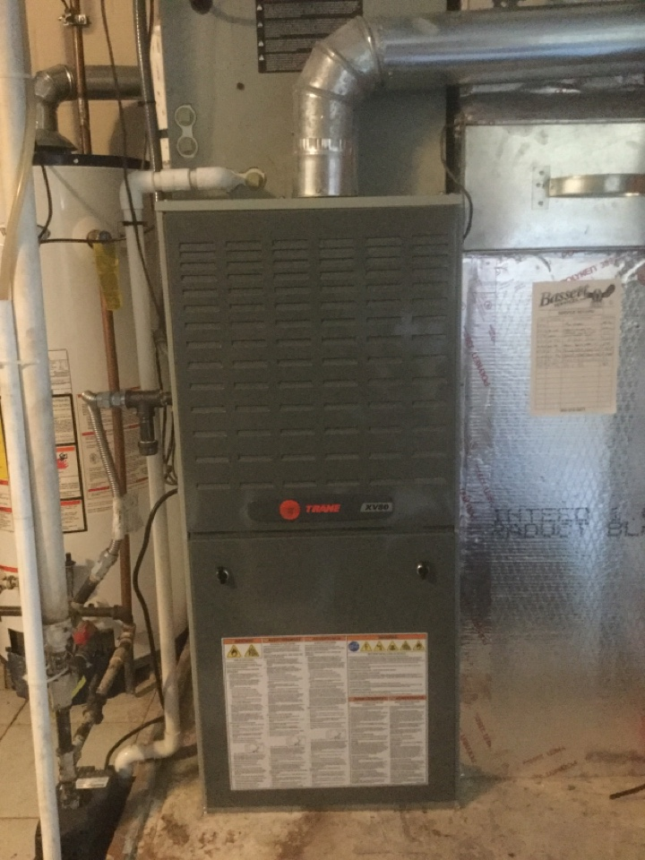Coatesville, IN - Trane Gas Furnace Heating Precision Tune Up and Service