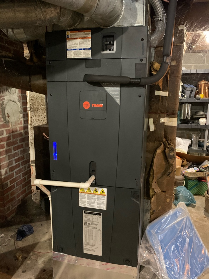Noblesville, IN - Seven Year Old Trane Air Handler Winter Tune Up