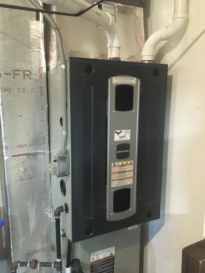 Pittsboro, IN - American standard 96% Efficient furnace service maintenance and repair