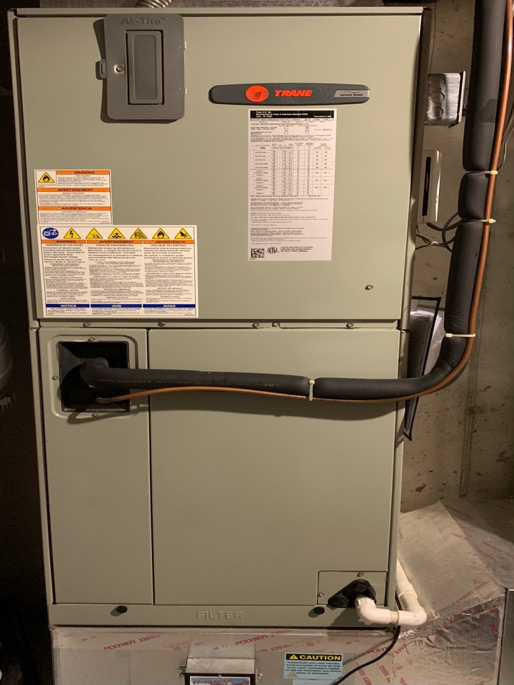 Fishers, IN - 10 Year Old Trane Air Handler Winter Tune Up