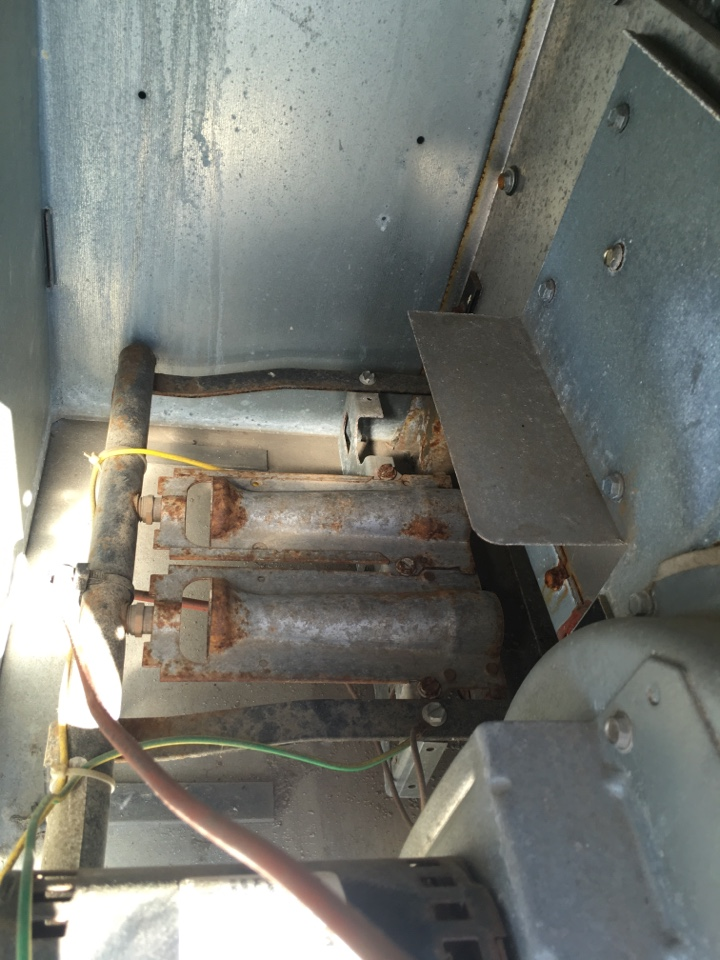 Indianapolis, IN - Heating Maintenance Service Carrier Rooftop Furnace