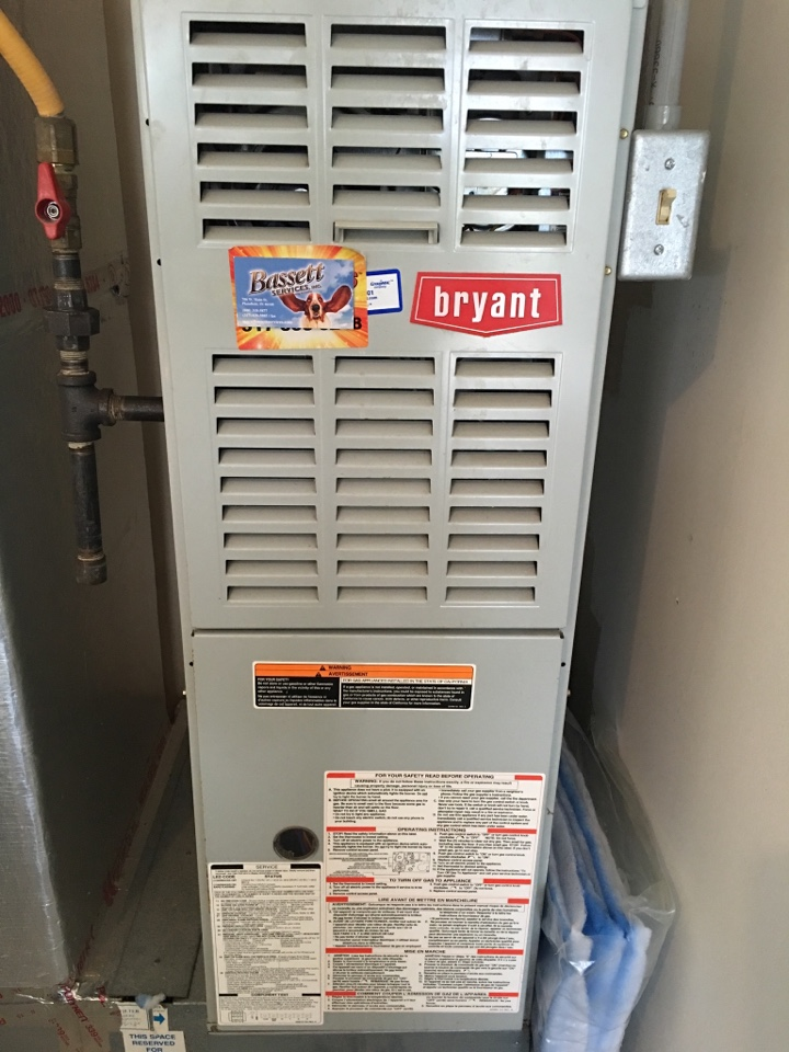 Indianapolis, IN - Heating tune up on Bryant gas furnace