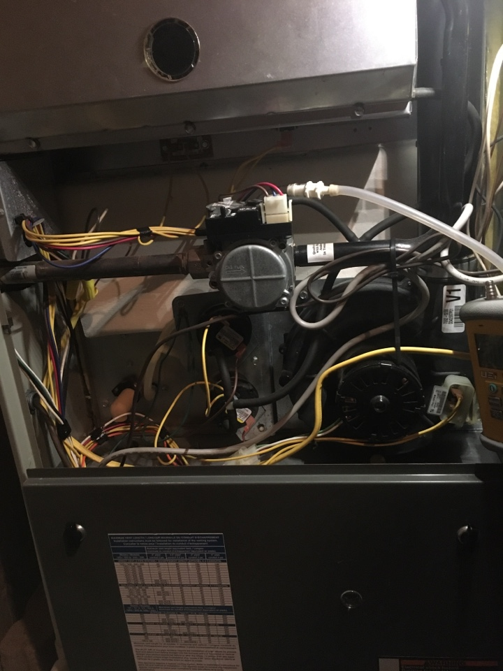 Greenwood, IN - Trane two gas furnace Service maintenance and repair
