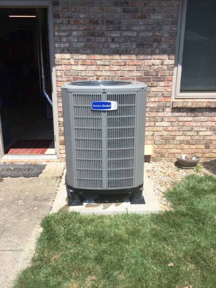 Cloverdale, IN - American Standard HeatPump Cooling Precision Tune Up and Service