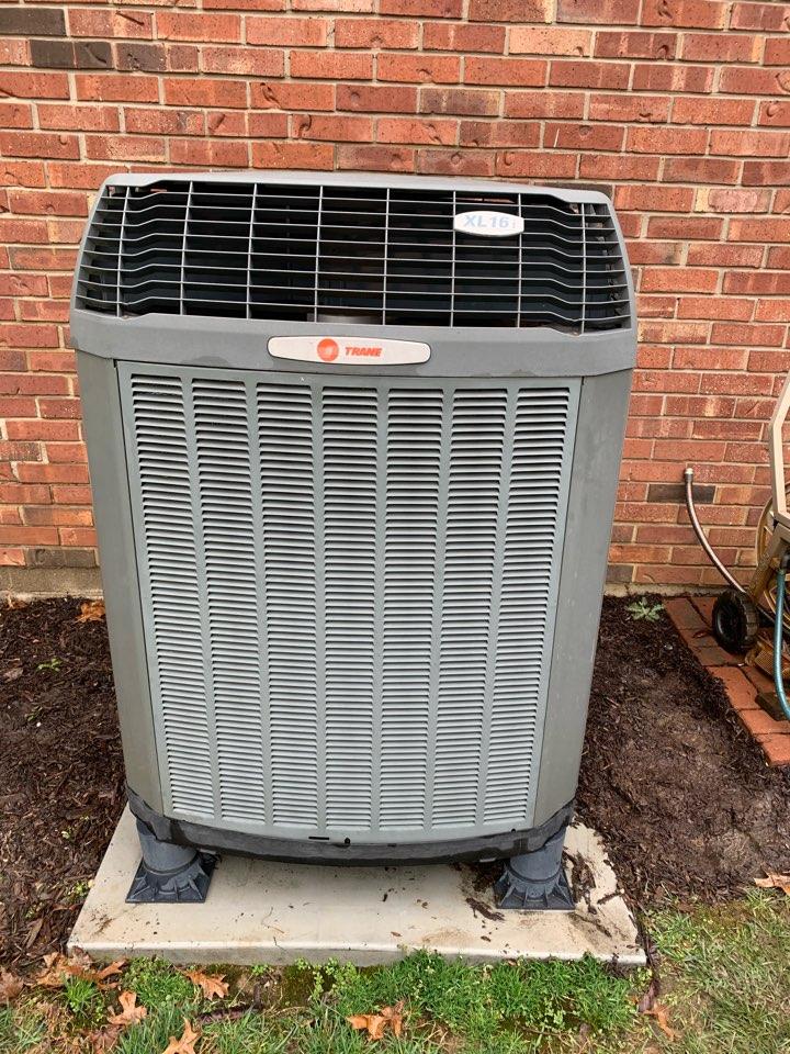 Zionsville, IN - 12 Year Old Trane Heat Pump Spring Tune Up