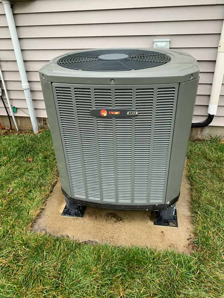 Fishers, IN - Nine Year Old Trane Heat Pump Spring Tune Up