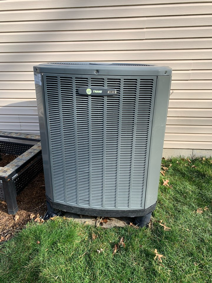 Fishers, IN - 11 Year Old Trane Heat Pump Spring Tune Up