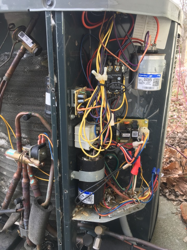 Clayton, IN - Trane heat pump and geothermal water furnace Service maintenance and repair
