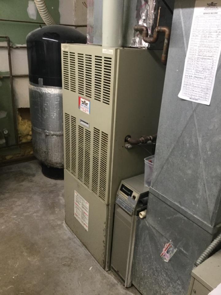 Bainbridge, IN - No Heat Service Repair Bard Gas Furnace
