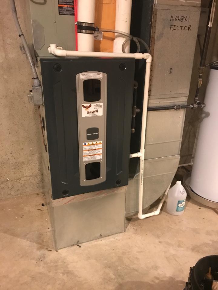 Speedway, IN - Repairing a American standard gas furnace air conditioner heat pump