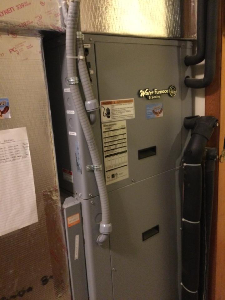 Danville, IN - Geothermal water furnace Service maintenance and repair