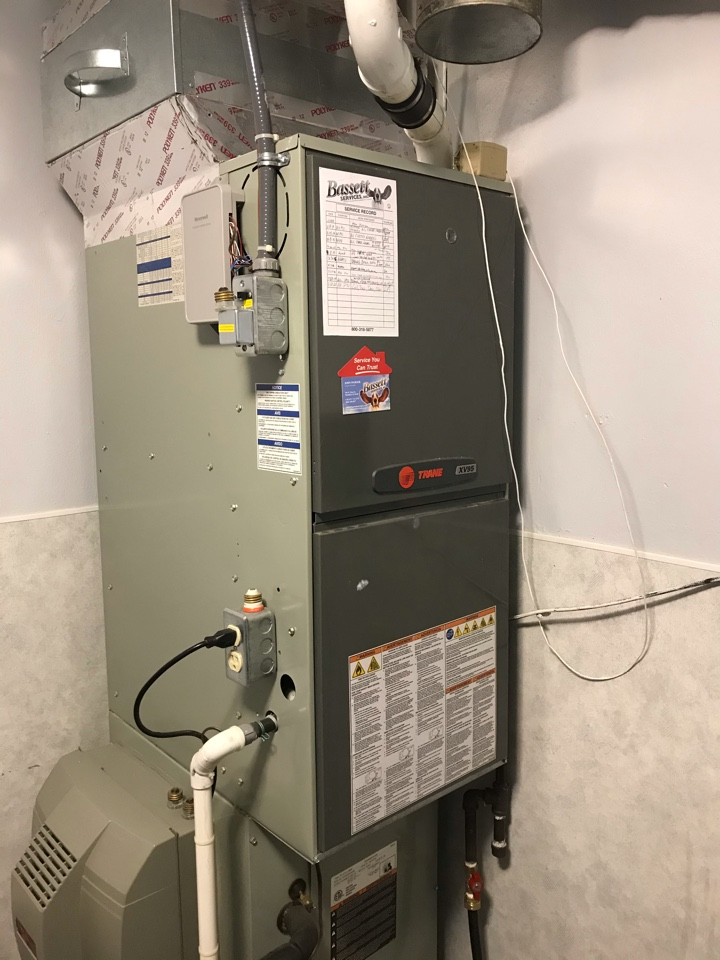 Greenwood, IN - Repairing a American standard gas furnace air conditioner heat pump