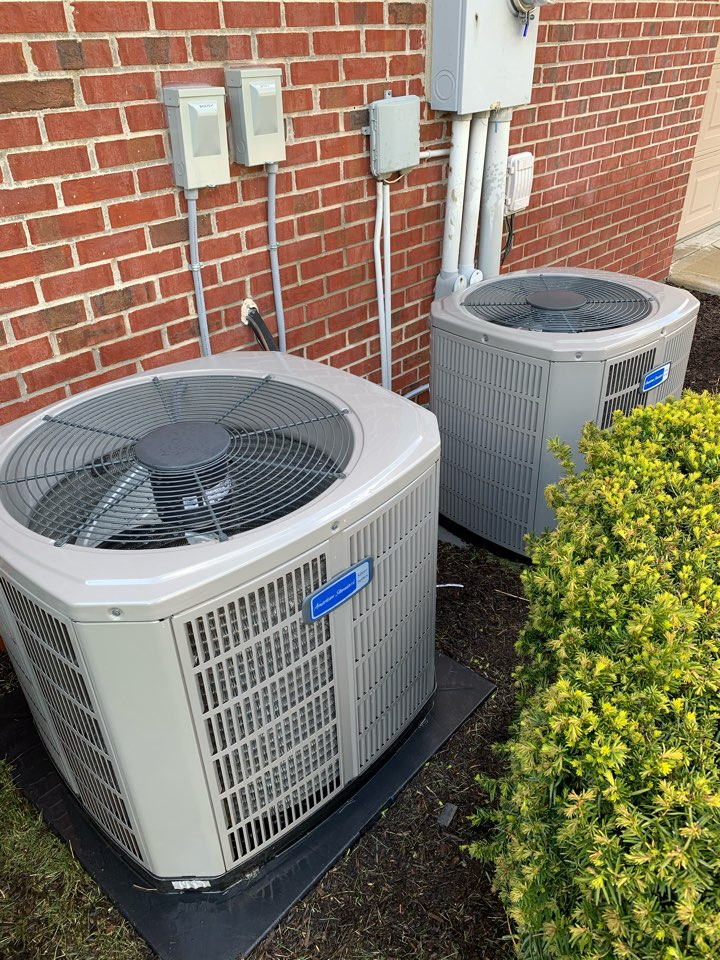 Noblesville, IN - Two, One Year Old American Standard Condensor Spring Tune Ups
