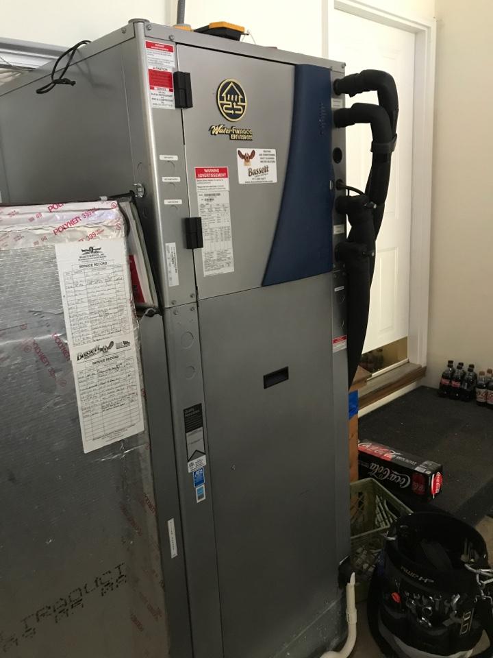 Mooresville, IN - Repairing a Waterfurnace geothermal heat pump air conditioner