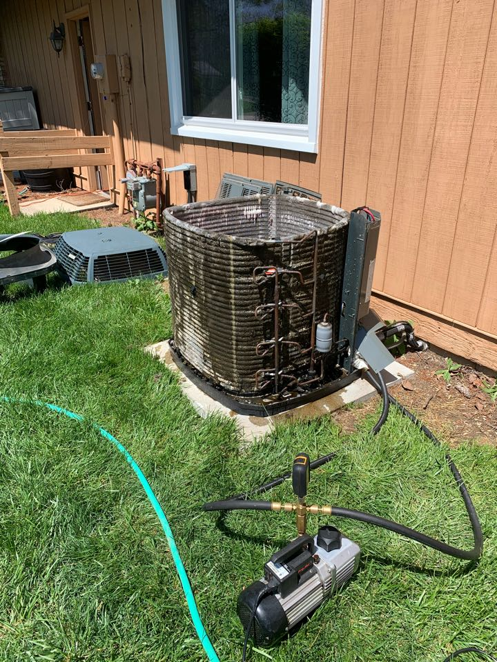 Noblesville, IN - Ac repairs and cleaning. Trane equipment.