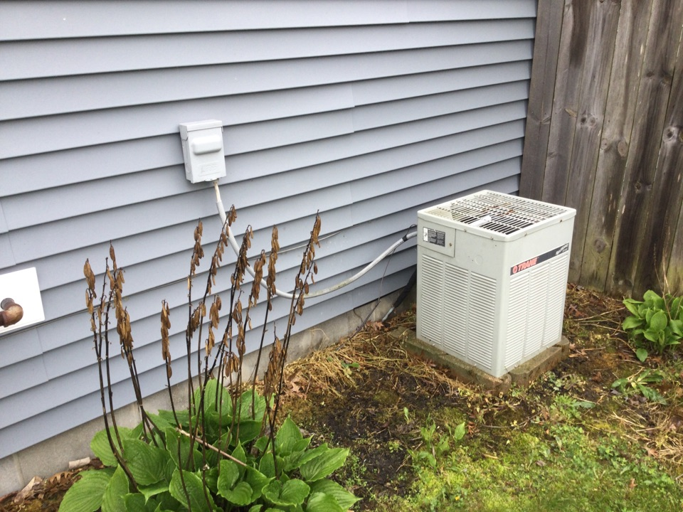Mooresville, IN - Trane to American standard air conditioner replacement estimate