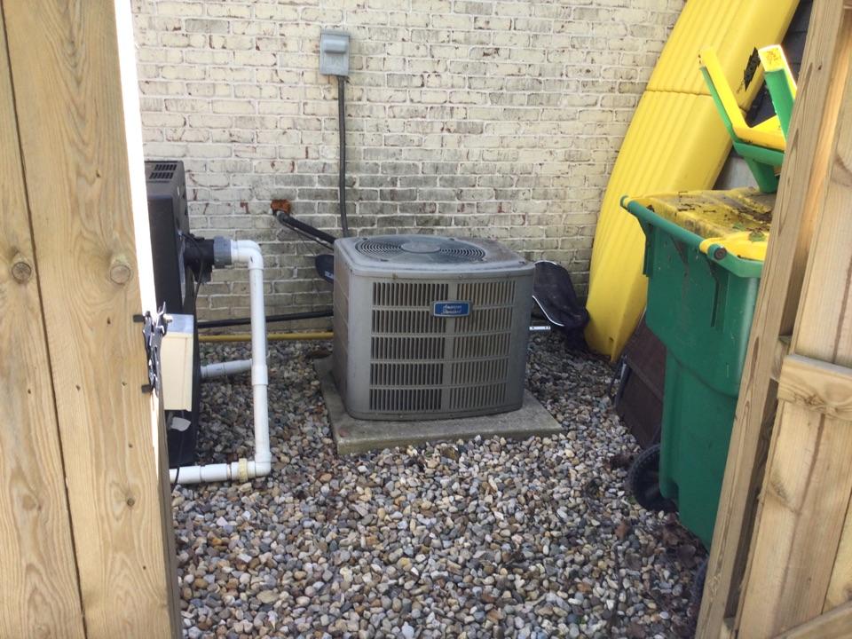 Avon, IN - American standard air conditioner replacement estimate