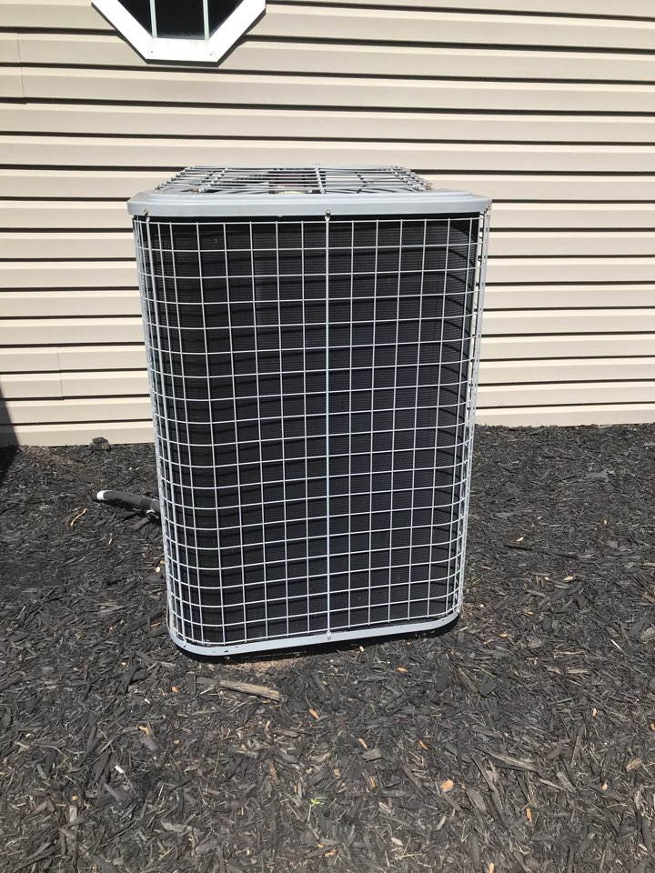 Plainfield, IN - Repairing a Bryant heat pump air conditioner furnace