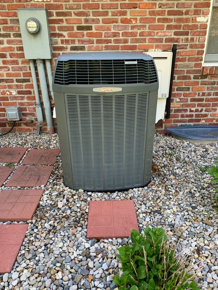 Indianapolis, IN - Service call repair on a Trane ac unit.