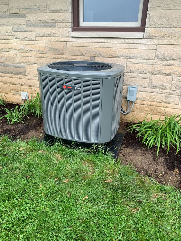 Greencastle, IN - Five Year Old Trane Heat Pump Spring Tune Up