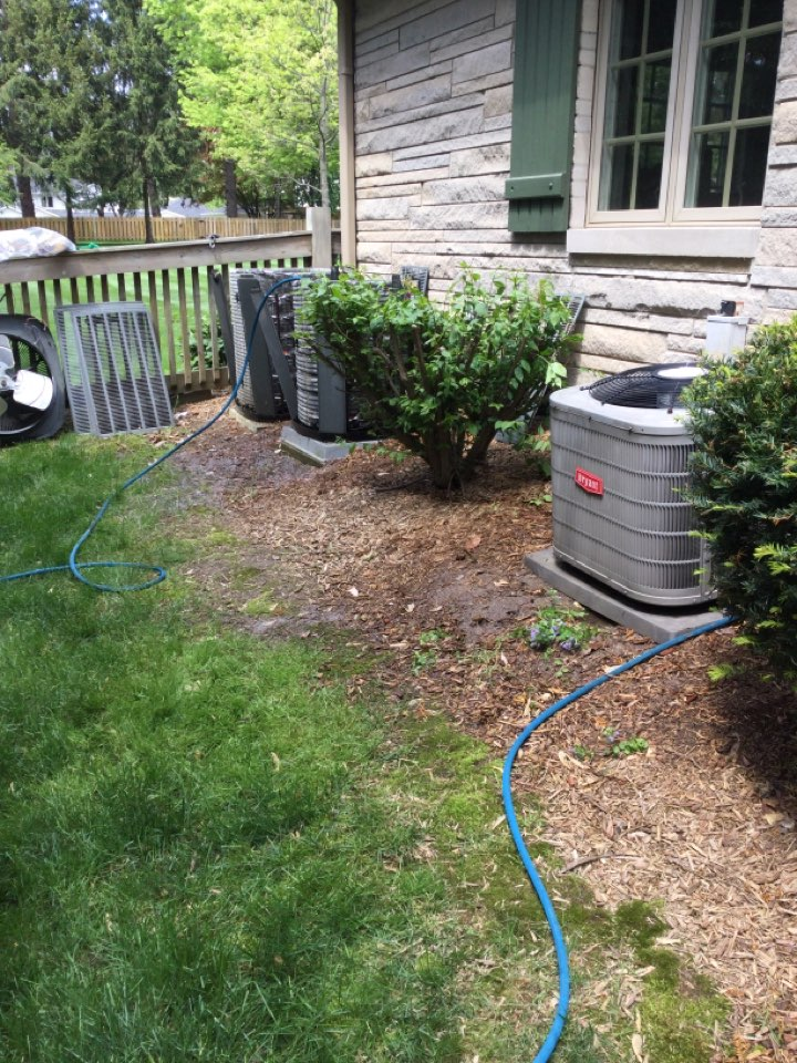 Indianapolis, IN - Two Tranes,and a Bryant 15 years old and older AC tuneup's service maintenance and repair