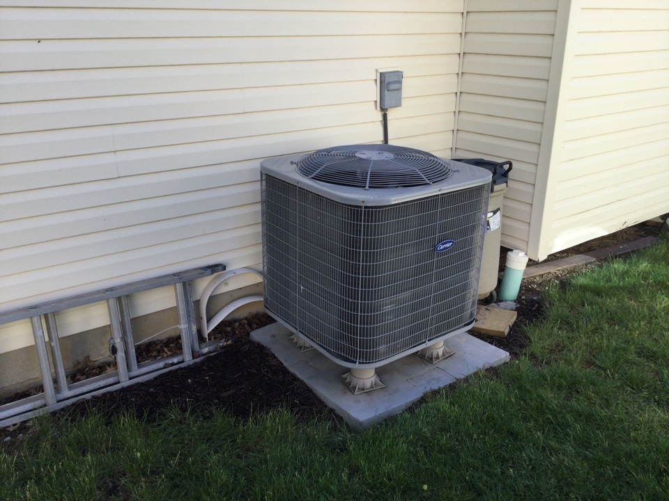 Indianapolis, IN - Bryant to American standard heat pump replacement estimate