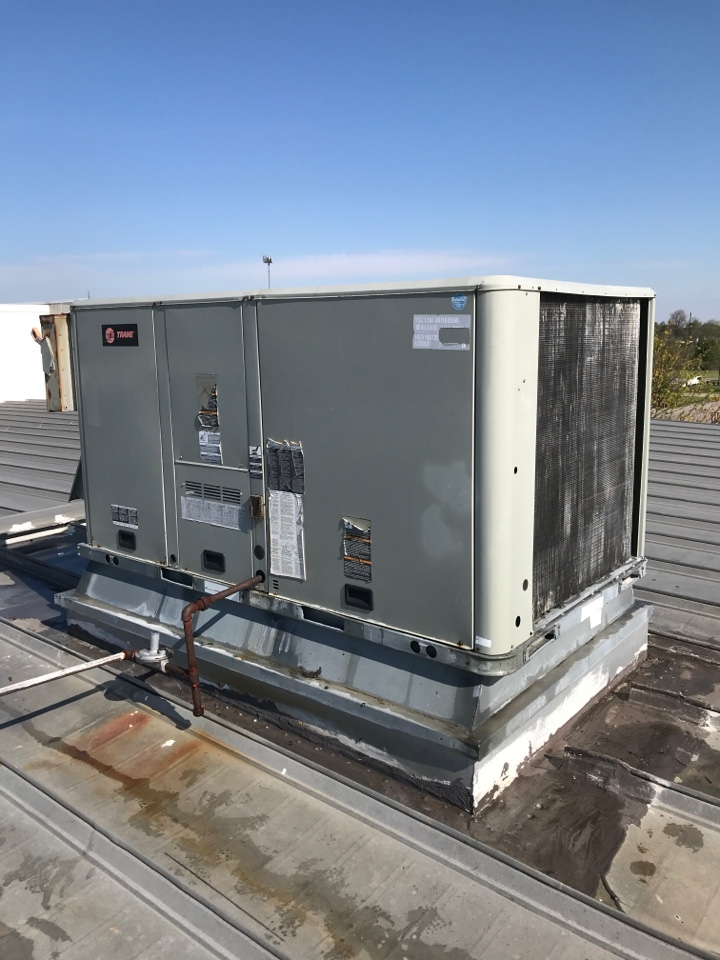 Fishers, IN - Repairing a Trane air conditioner