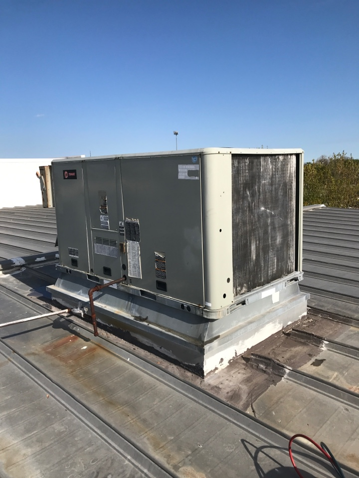 Fishers, IN - Repairing a Trane air conditioner furnace