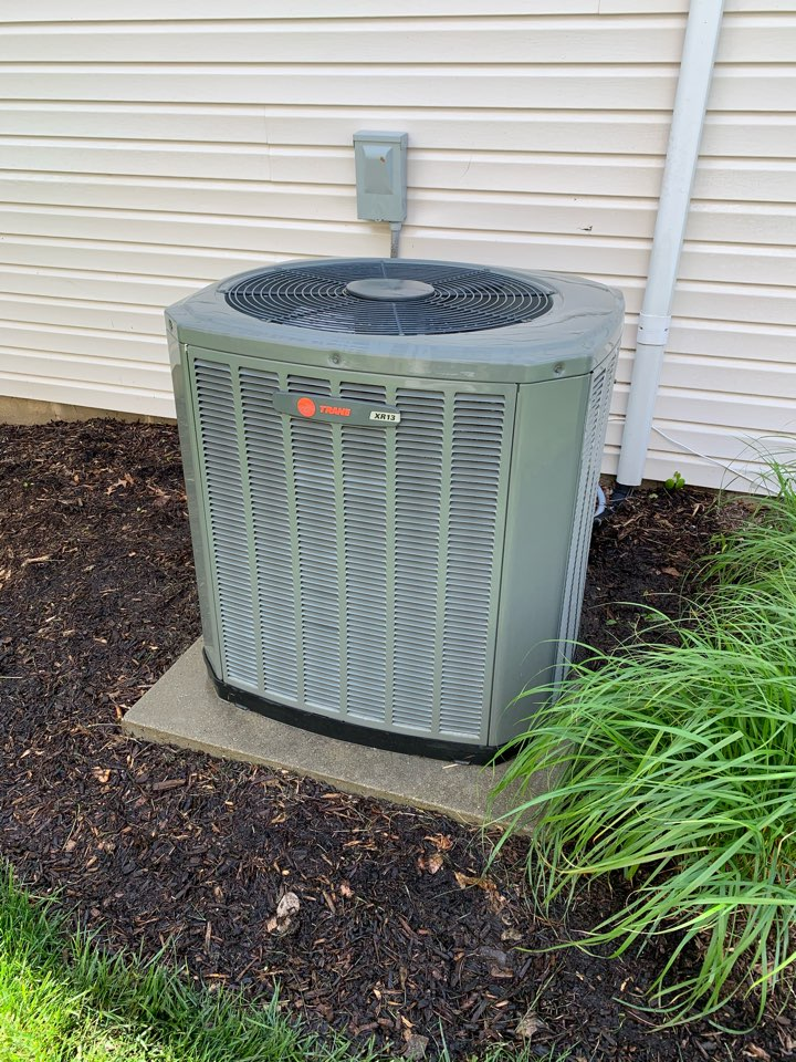 Fishers, IN - 12 Year Old Trane Condensor Spring Tune Up