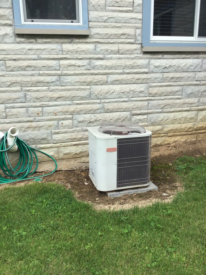 Greencastle, IN - Estimate on New Installation of American Standard Air Conditioner.