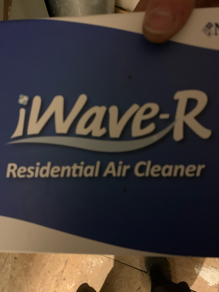 Fishers, IN - Installed New I-Wave Air Purifier