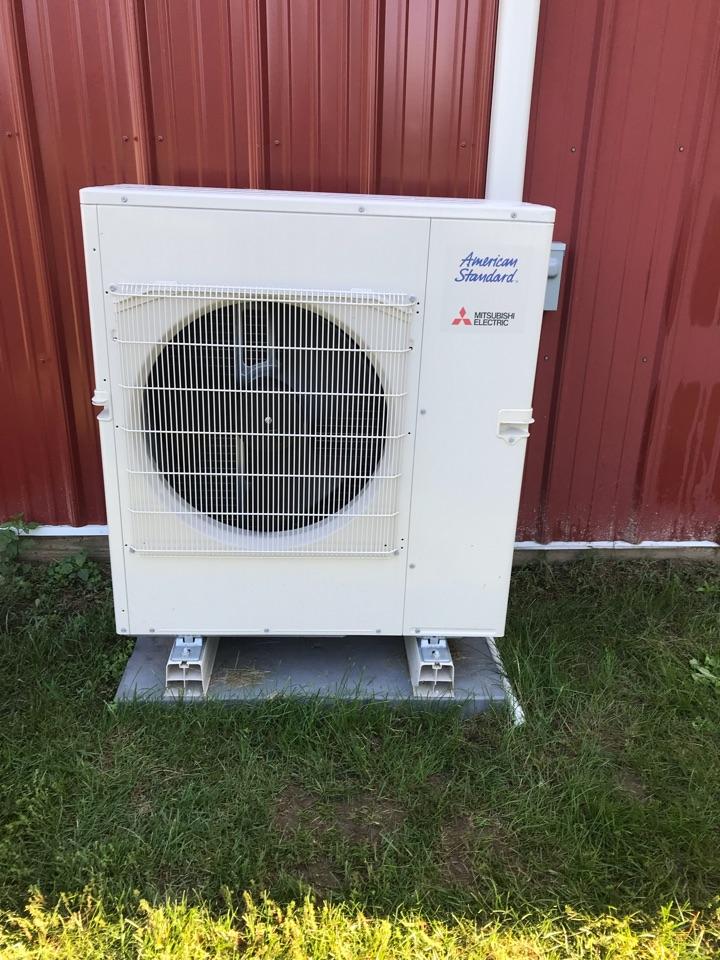 Lizton, IN - Repairing a American standard air conditioner heat pump furnace