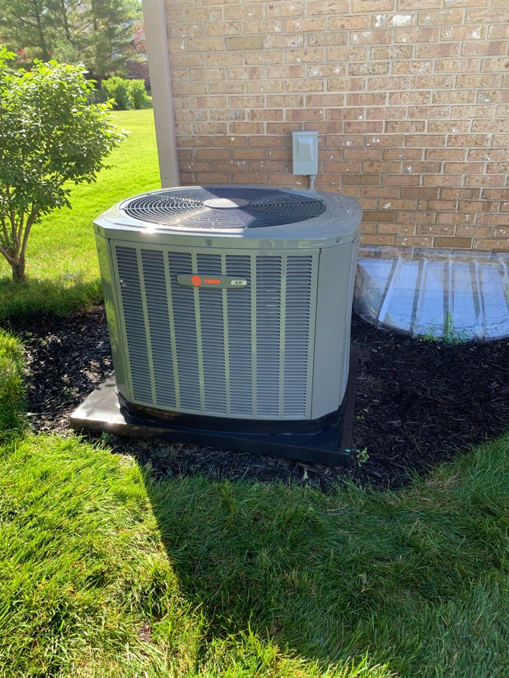 Carmel, IN - Six Year Old Trane Condensor Summer Tune Up