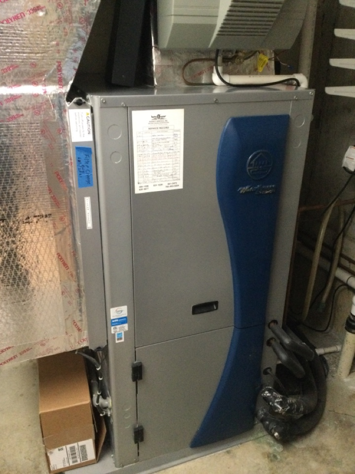 Geothermal Water Furnace AC service maintenance and repair