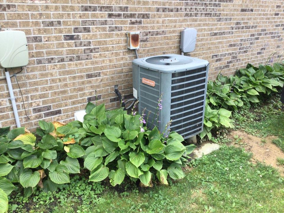 Clayton, IN - Goodman to American standard heat pump replacement estimate