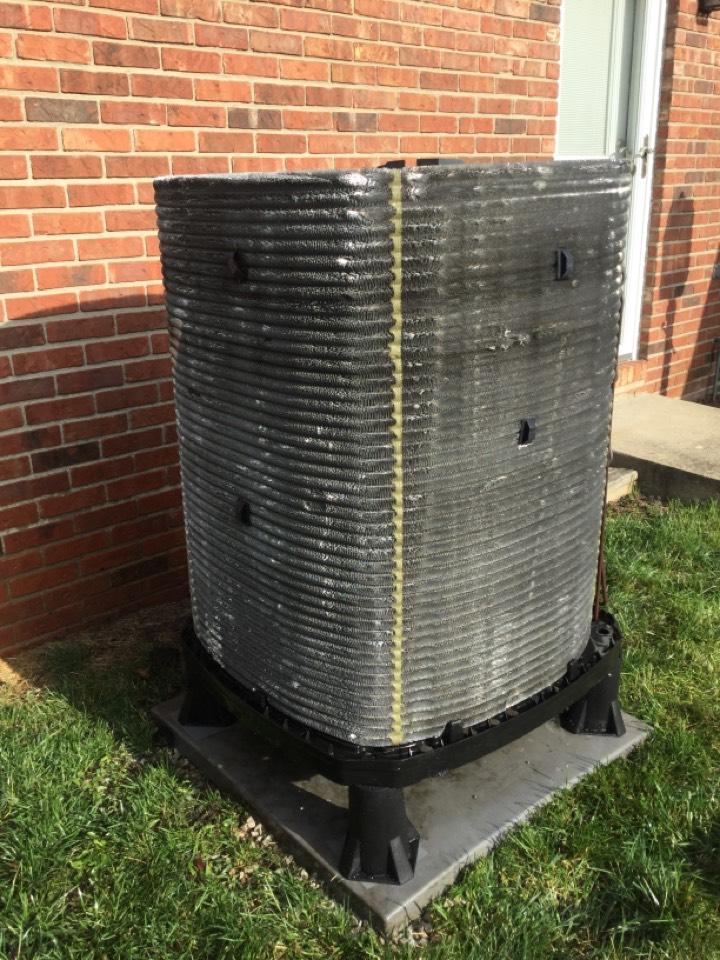 Greenwood, IN - Cooling AC Service Repair Maintenance Service Trane Heat Pump Air Conditioner