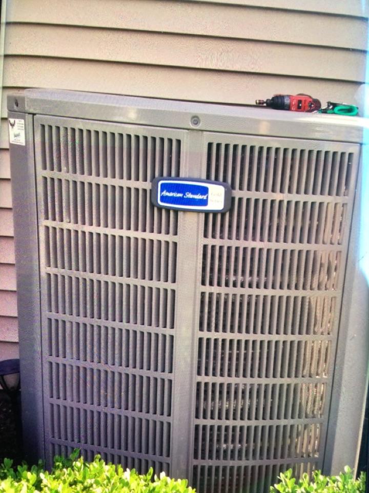 Fishers, IN - American standard heat pump service maintenance and repair