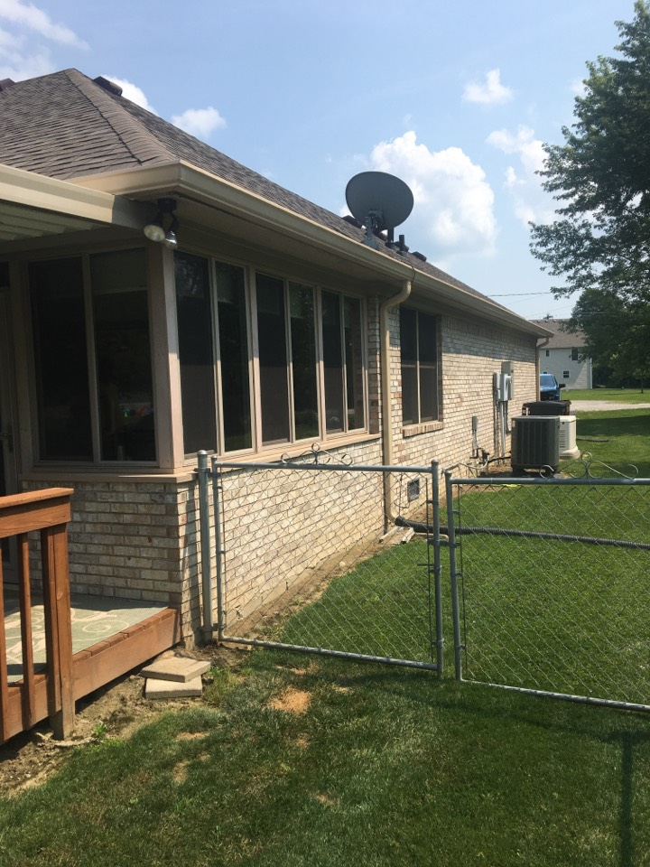 Coatesville, IN - Add ductless mini split to converted porch