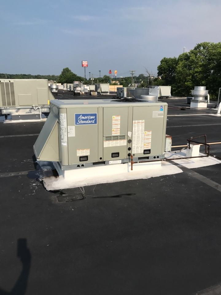 Brownsburg, IN - Repairing a American standard air conditioner