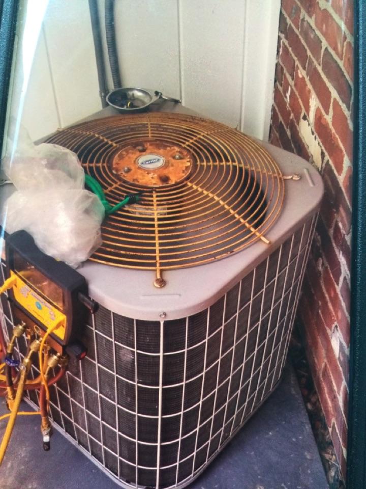 Lizton, IN - Carrier AC unit service maintenance and repair