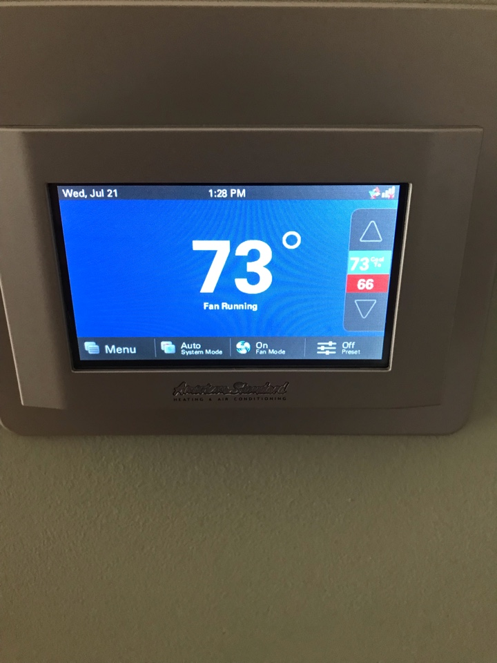 Indianapolis, IN - Repairing a American standard air conditioner
