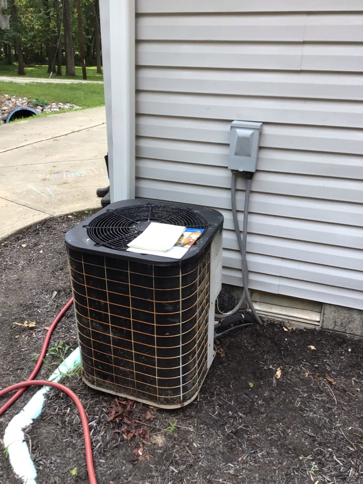 Mooresville, IN - Estimate on new installation of American Standard Heat Pump System.