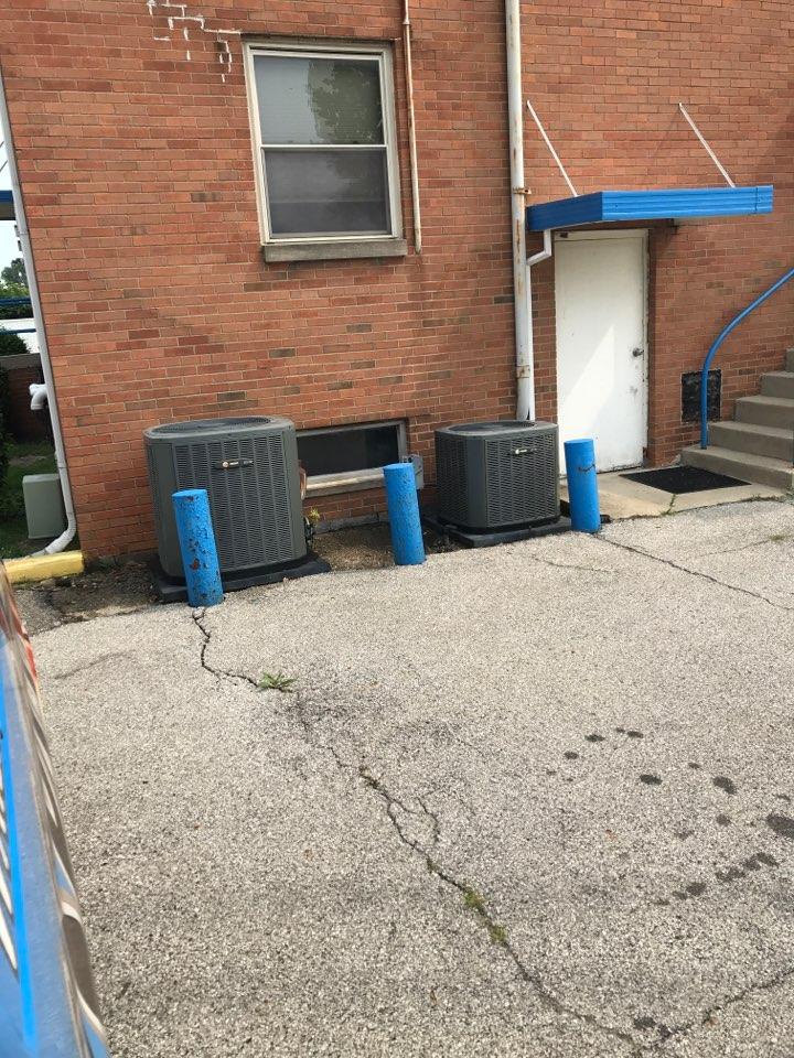Indianapolis, IN - Repairing a Trane air conditioner