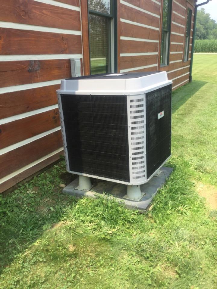Danville, IN - Cooling AC Maintenance Service Heil Heat Pump Air Conditioner