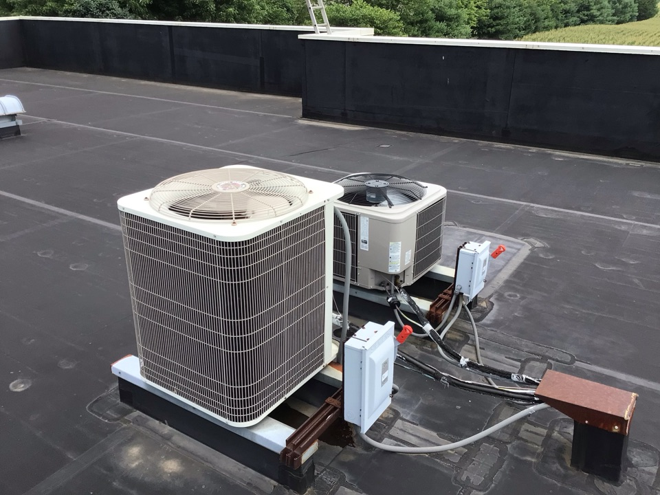 Clayton, IN - Estimate on commercial installation of American Standard Gas Furnace(s) and Air Conditioner(s).