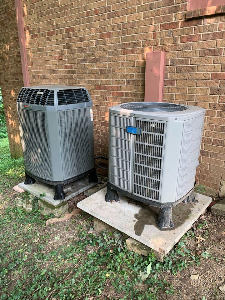 Zionsville, IN - Service call repair on a American Standard heat pump